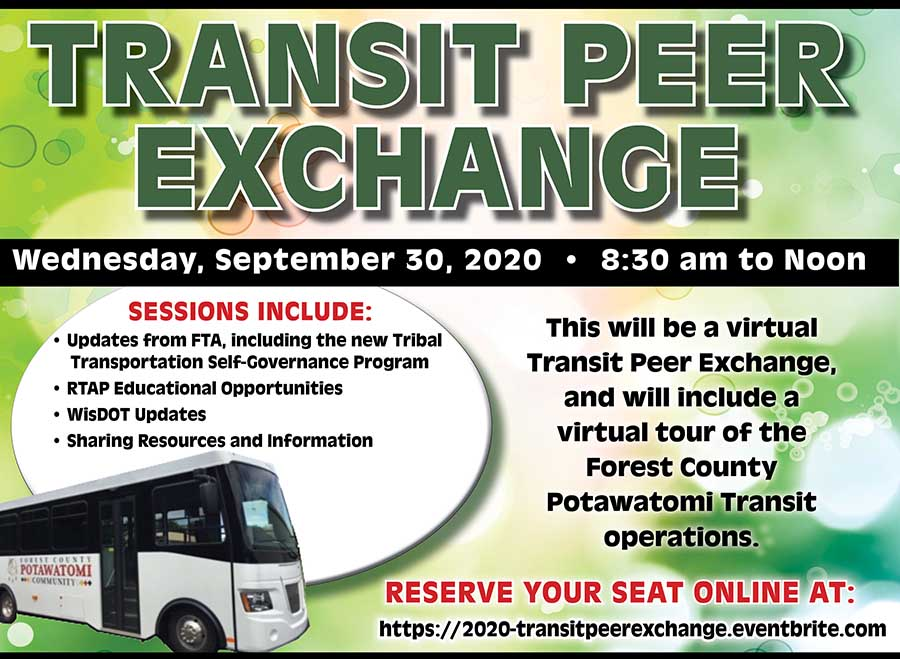 2020 Transit Peer Exchange @ Zoom